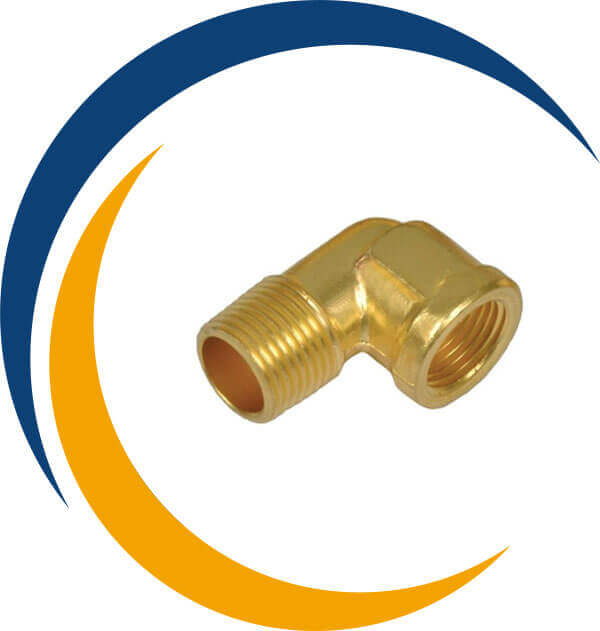 Brass Forged Elbow
