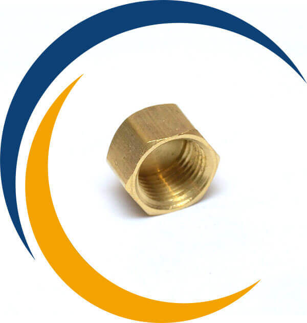 Brass Forged End Cap