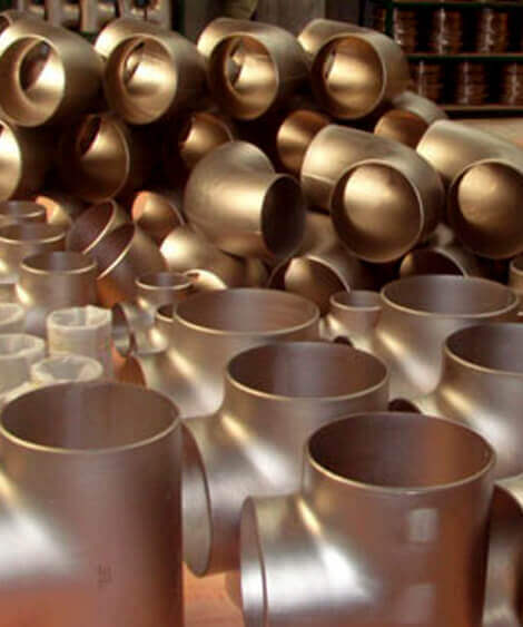 Copper Nickel 90/10 Pipe Fittings