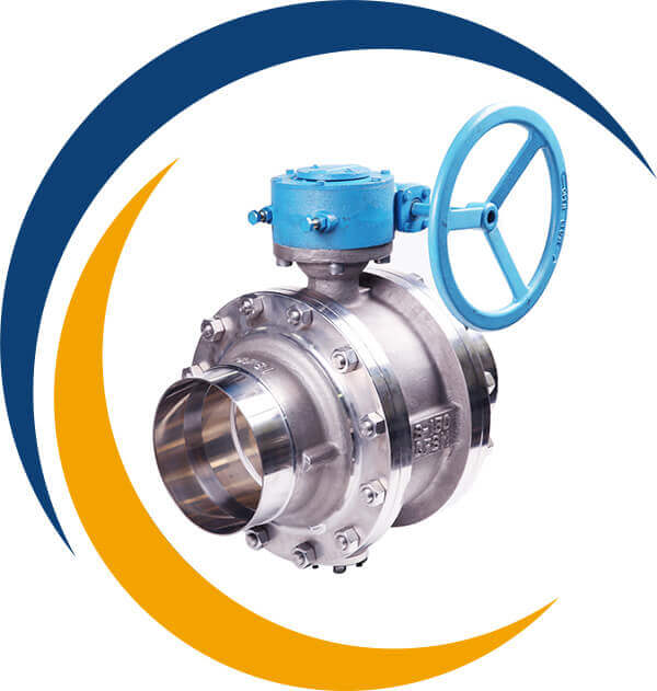SS 304 Trunnion Mounted Ball Valves